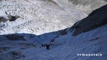 Grandes Jorasse face nord Voie Polonaise Michto Pointe Hélène Mont-Blanc massif