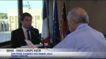 """Manuel Valls : """"Ne jamais céder au chantage"""""""