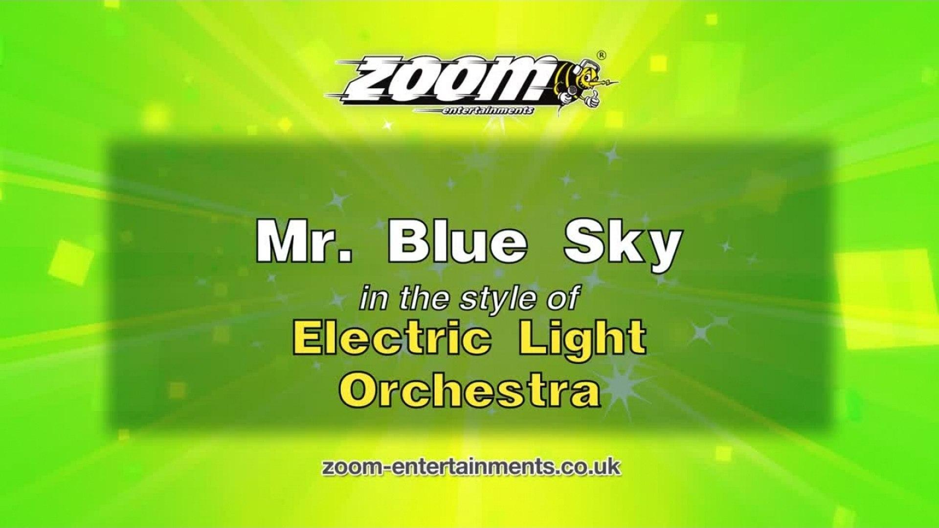 Zoom Karaoke - Mr  Blue Sky - Electric Light Orchestra