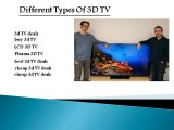 Best 3D TV Deals: Enjoy 3D presentation Experience at your Home Comfortable