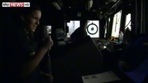 Inside USS Philippine Sea As Syrian Airstrikes Launched.