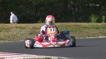Thomas Mich Champion de France de Karting KZ 125