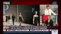 Made in Paris: Pascal Piveteau, créateur de vêtements et maroquinerie, dans Paris est à vous – 23/09