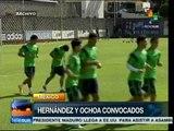 El Chicharito y Ochoa convocados por la Selección de Fútbol de México