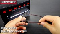 How To Reduce Computer Eye Strain Gunnar Wi-Five Crystalline Lens Glasses Review