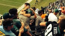 Eagles Fans Fight in Stands During Win Over Redskins