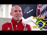 WM 2014 - Arjen Robben trifft auf Titelverteidiger Spanien