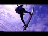 Kitesurf-Elite auf Sardinien (Schlaufenfreie Kitesurf-Revolution mit Stars)