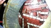 Ancona - 270 mila euro di bionde sbarcano al porto (23.09.14)