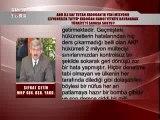 SÖZ ADRES SORAR - ŞEFKAT ÇETİN 24.09.2014