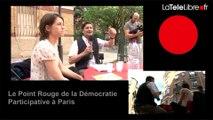 LE POINT ROUGE #39 DE LA DÉMOCRATIE PARTICIPATIVE À PARIS