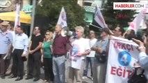 Antalya Eyleme Öğrencilerden Alkışlı Destek