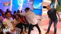 Swagg Man distribue des billets en direct - ZAPPING PEOPLE DU 24/09/2014