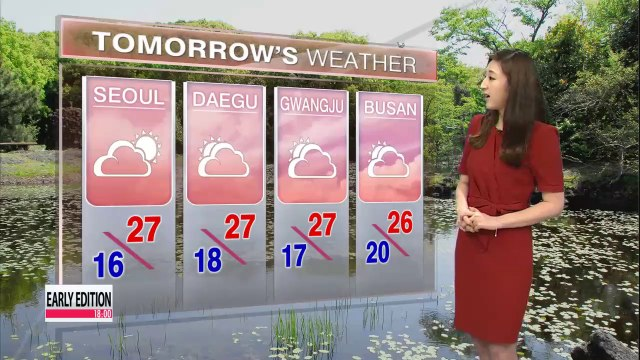 Bright, sunny Thursday forecast nationwide