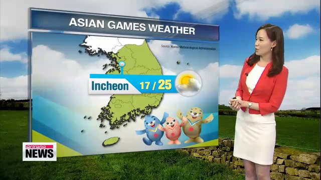 Perfect autumn weather forecast for Thursday