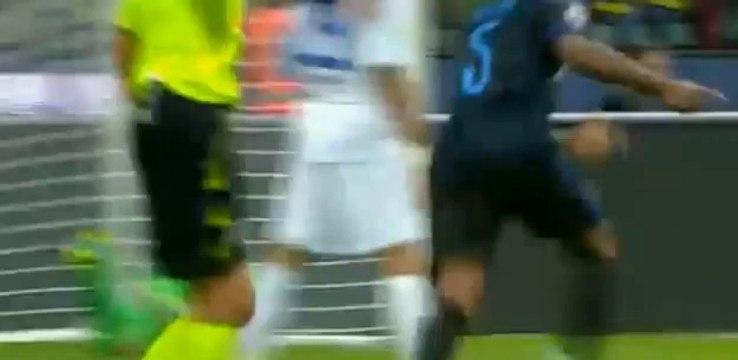 Pablo Osvaldo Fantastic Volley Goal - Inter Vs Atalanta 1-0 (Serie A) 24.09.2014