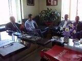 Gönen Süt Birliği Başkanı Necmi Ayyıldız'dan STK ziyaretleri