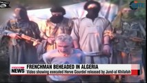 Algerian extremist group releases video showing decapitated Frenchman