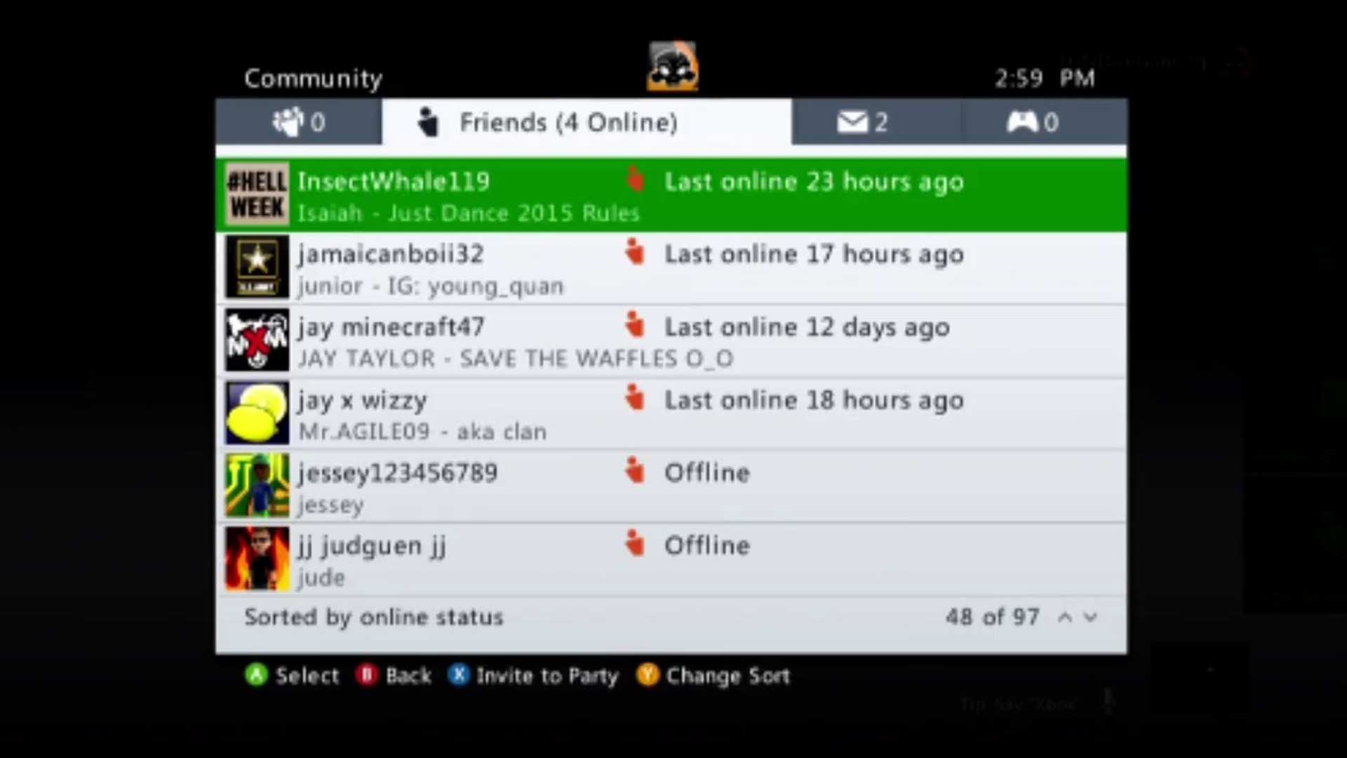 Tutorial For How To Accept A Friend Request On Xbox Live On The Xbox 360