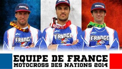 Equipe de France FFM - Motocross des Nations 2014
