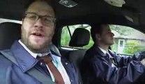 Jimmy Kimmel et Seth Rogen parodient True Detective