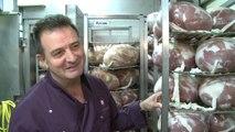 Visite de la dernière salaison de jambon de Paris... à Paris