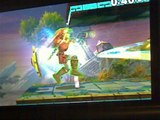 Link VS Link In A Super Smash Bros. For Nintendo 3DS Demo Match / Battle / Fight