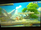 Mario VS Link In A Super Smash Bros. For Nintendo 3DS Demo Match / Battle / Fight