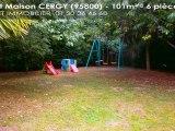 A vendre - maison - CERGY (95800) - 6 pièces - 101m²