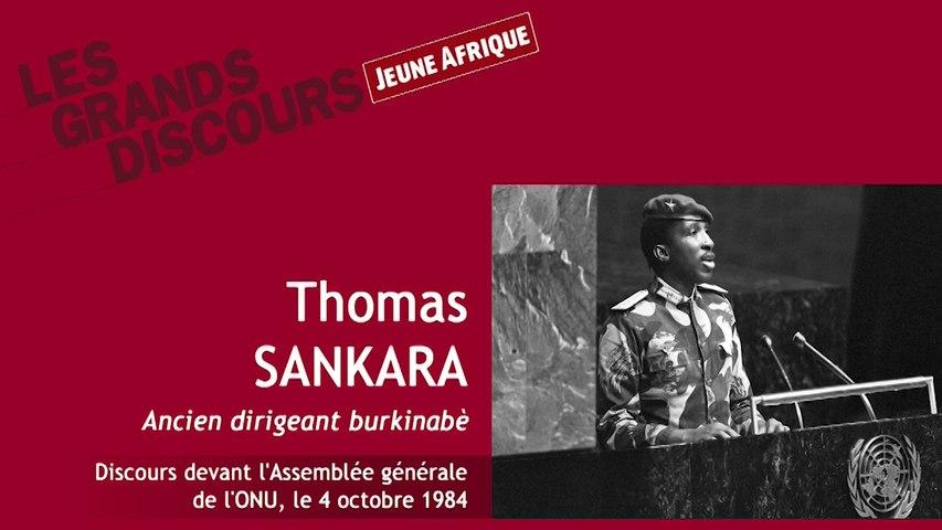 Burkina Faso : 4 octobre 1984, le discours historique de Sankara à l'ONU