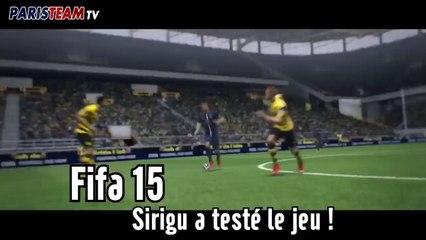 Sirigu a testé Fifa 15 !