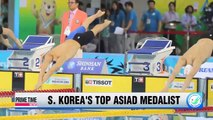 Park Tae-hwan becomes Asiad's most decorated athlete