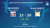 Extraits Mulhouse Sud Alsace / Grand Nancy ASPTT - Handball ProD2
