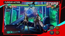 Persona 4 Arena Ultimax - Tuto #2 - Les mouvements de base