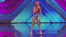 Scarlett Quinn sings Aint No Other Man _ Arena Auditions Wk 2 _ The X Factor UK 2014