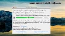Apple iOS 8.0.2 jailbreak Untethered (Evasion 1.0 Jailbreak iOS 8.0.2 ) - iPhone, iPad et iPod Touch
