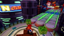 Crash Bandicoot 3 : Warped - Niveau 29 : Future Frenzy