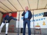 Yann Queffélec sur la scène à Nantes
