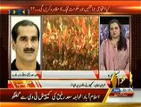 Khawaja Saad Rafique Shouting & Criticizing Imran Khan Today's Jalsa In Lahore