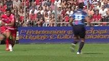Toulon-Montpellier: Essai 1 James O'Connor (TLN) - J7 - Saison 2014/2015