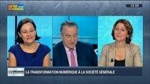 La Société Générale en pleine transformation numérique?: Françoise Marcadal-Delassales et Nathalie Wright, dans 01Business – 27/09 1/4