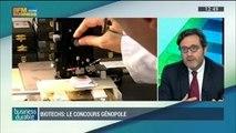 Le concours Genopole récompense les meilleurs projets de biotechnologie: Patricia Laurent et Eric Lameignère, dans Business Durable – 28/09 4/4