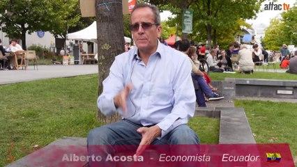 Repensar la Economía -  Alberto Acosta
