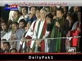 Imran Khan Full Speech at Lahore Jalsa - 28th September 2014