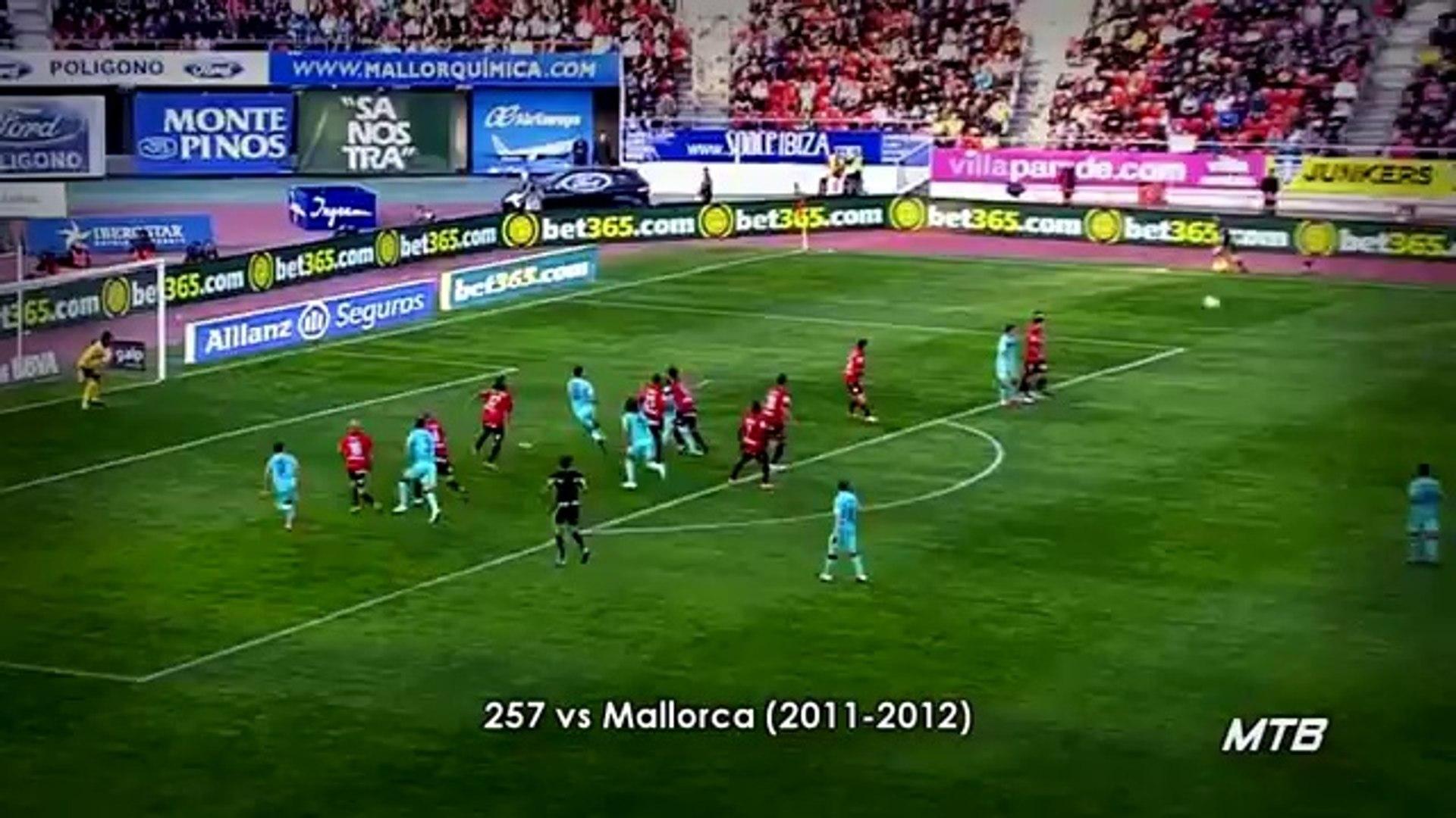 اهداف ميسي 401 هدف مع برشلونة ومنتخب الارجنتين