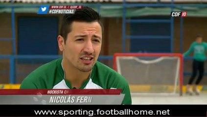 Hoquei :: Nicolas Fernandez no Sporting