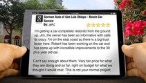 German Auto of San Luis Obispo - Bosch Car Service San Luis Obispo         Great         Five Star Review by Jeff C.