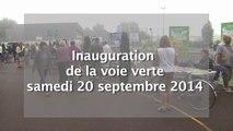 inauguration de la voie verte à Dunkerque