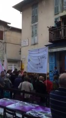 Marche silencieuse à Saint Martin Vésubie 02