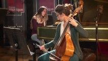 """Prélude """"à discrétion"""" du Quatuor n°6 de Telemann, par Les Ombres   Le Live de la Matinale"""